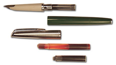 Waterman CF pen with International cartridge