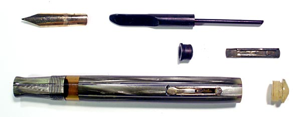 Pen, disassembled