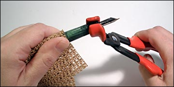 Using section pliers