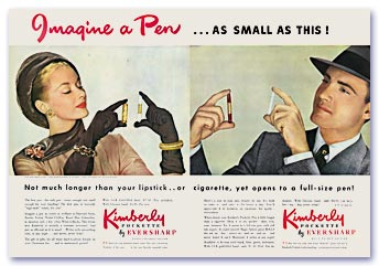 Kimberly Pockette Advertisement, 1947
