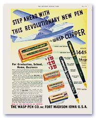 Wasp Clipper Advertisement, 1937